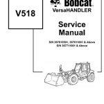 Bobcat V518 VersaHandler Service Manual