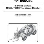 Bobcat T2556, T2566, Telescopic Handler Service Manual