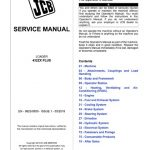 JCB 432ZX PLUS Wheel Loader Service Manual