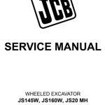 JCB JS145W Manual