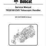 Bobcat TR38160 EVO Telescopic Handler Service Manual