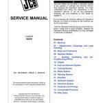JCB 422ZX Wheeled Loader Service Repair Manual