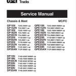 Caterpillar GPE15N, GPE18N, GPE20CN Forklift Truck Service Manual