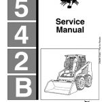 Bobcat 542B Skid Steer Loader Service Manual PDF