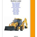 JCB 2CX, 2CXU, 210S, 210SU Backhoe Loader Service Manual
