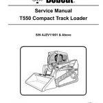 Bobcat T550 Compact Track Loader Service Manual