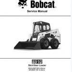 Bobcat S510 Skid - Steer Loader Service Repair Manual