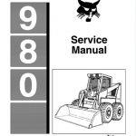 Bobcat 980 Skid Steer Loader Service Manual