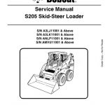 Bobcat S205 Skid - Steer Loader Service Manual