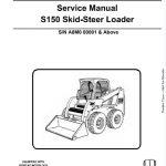 Bobcat S150 Skid - Steer Loader Service Manual