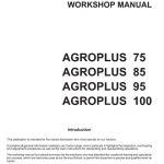 Deutz Fahr Agroplus 75 85 95 100 Tractor Service Manual