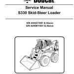 Bobcat S330 Skid - Steer Loader Service Repair Manual