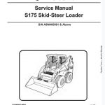 Bobcat S175 Skid - Steer Loader Service Manual