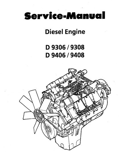 Liebherr D9306 D9308 D9406 D9408 Diesel Engine Service Manual