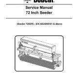 Bobcat 72 Inch Seeder Service Manual