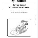 Bobcat MT85 Mini Track Loader pdf
