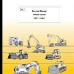 Liebherr L511 L521 L531 L541 Wheel Loader Service Manual