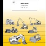 Liebherr PR711C - PR751 Crawler Dozer Service Manual