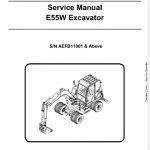 Bobcat E55W Compact Excavator Service Manual