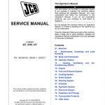 JCB 427, 435S, 437 Wheel Loader