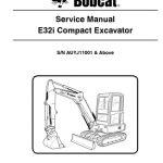 Bobcat E32i Compact Tractor Service Manual