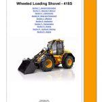 JCB 418S Wheeled Loading Shovel Service Manual