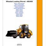 JCB 406, 409 Wheeled Loading Shovel Service Manual PDF