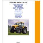 JCB 7170 7200 7230 Fastrac Service Repair Manual